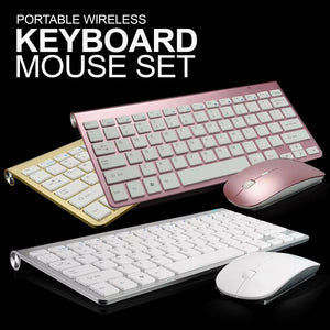 Portable Wireless Keyboard Set