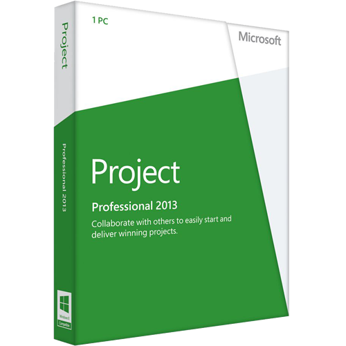 Refurbished Microsoft Project 2013 Professional