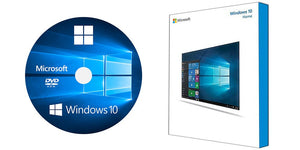 Refurbished Windows 10 Home 64 Bit DVD + COA