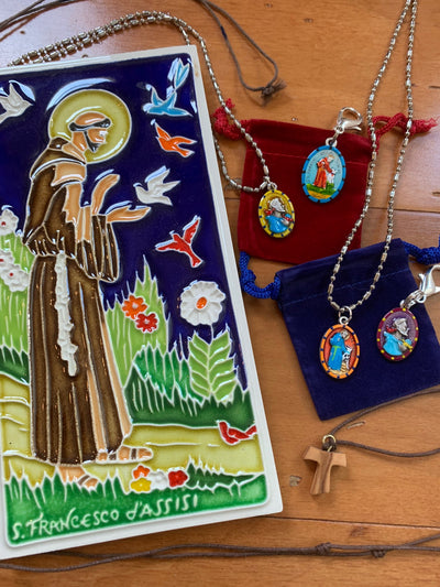 Saint Francis of Assisi, Franciscan Crosses, Lafreniere Park Art Market