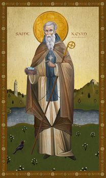 Saint Kevin of Glendalough