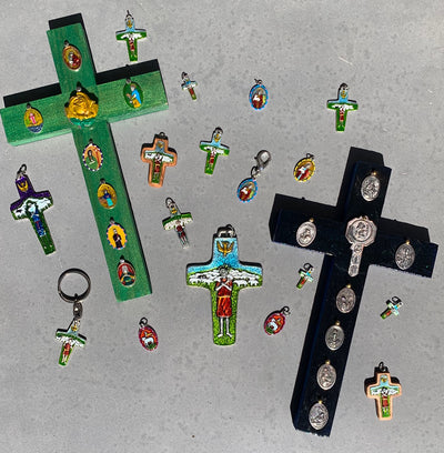 "On ""Shepherding"" and Guess Where We Have Mailed Our Hand-Painted Saint Medals, Necklaces and Stories Since the Last Newsletter!"