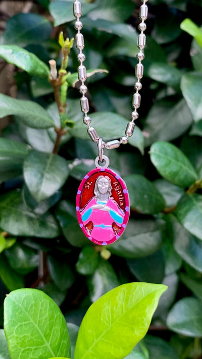 Agatha, Saint Medal, Patron Saint Cancer Patients, Especially Breast Cancer