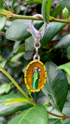 Bridget, Brigid, Saint Medal, Maritime Patron of Boatsmen, Cruise Ships, Vessels, Navy, and Sailors