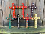 Hand-Painted Repurposed Crosses. Remixed, Remade, Remodeled & Repurposed!