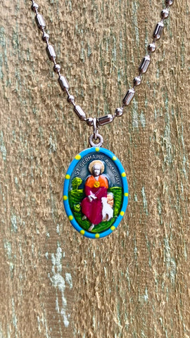 Germaine, Saint Medal, Patron of the Handicapped, Disability Awareness, ADA