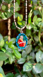 John the Apostle, Hand-Painted Saint Medal, Patron of Friendship, Loyalty, The Beloved Disciple, Jesus's Best Friend, True Friends