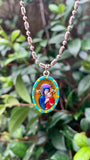Our Lady of Perpetual Succor, Hand-Painted Medal, Constant Help in Times of Need