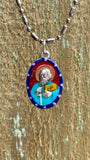 Paul the Apostle, Hand-Painted Saint Medal, Tolerance, Compassion