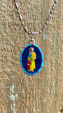 Vincent de Paul, Hand-Painted Saint Medal, Charity, Philanthropy