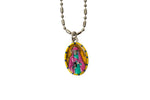 Saint Alice Miraculous Medal - Hand-Painted on Italian Silver by Saints For Sinners