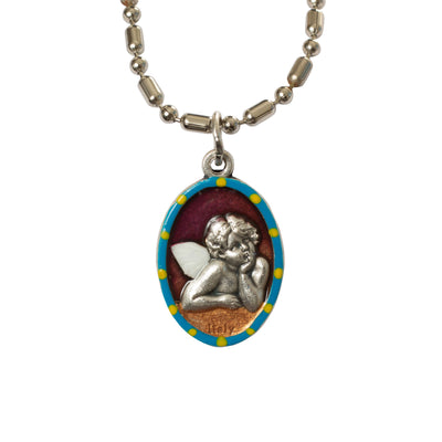 Cherub Guardian Angel Medal