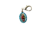 Saint Expedite Miraculous Medal - Hand-Painted on Italian Silver by Saints For Sinners