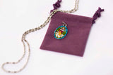 The Good Shepherd Medal - Hand-Painted on imported Italian Silver by Saints For Sinners