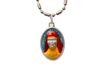 Saint Mary MacKillup Medal Necklace - Hand-painted on imported Italian Silver by Saints For Sinners