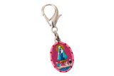 Our Lady of Charity Miraculous Medal - Hand-Painted on Italian Silver by Saints For Sinners