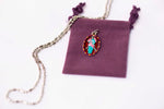 Our Lady Undoer of Knots Medal - Hand-Painted on imported Italian Silver by Saints For Sinners