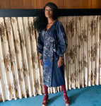 Esi Denim Wrap Dress