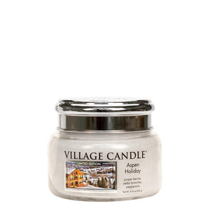 Aspen Holiday Small Glass Jar Limited Edition ML