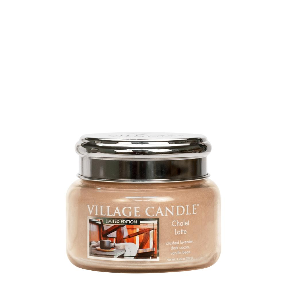 Chalet Latte Small Glass Jar Limited Edition ML