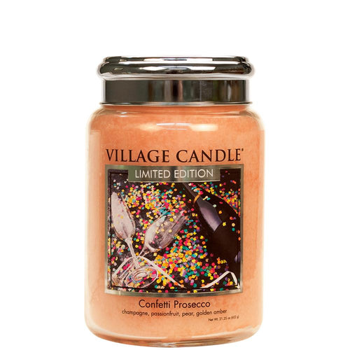 Confetti Prosecco Large Glass Jar Limited Edition ML