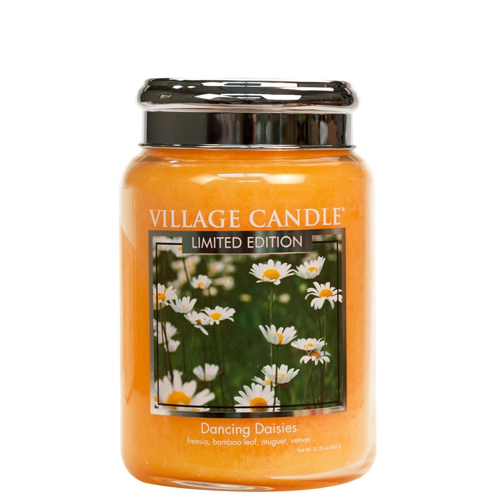 Dancing Daisies Large Glass Jar Limited Edition ML
