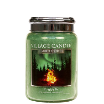 Fireside Fir Large Glass Jar Limited Edition ML