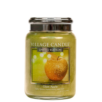 Glam Apple Large Glass Jar Limited Edition ML