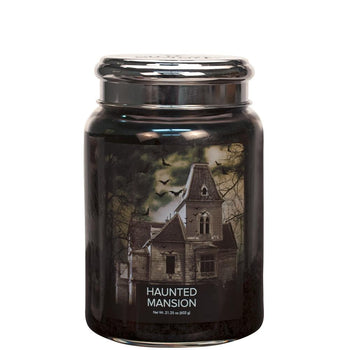 Haunted Mansion Large Glass Jar Halloween