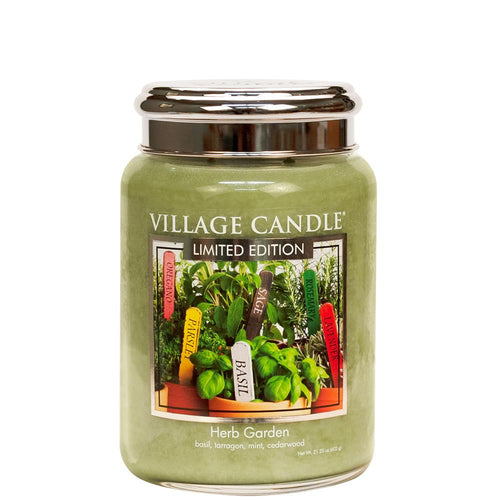 Herb Garden Large Glass Jar Limited Edition ML