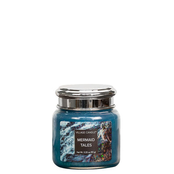 Mermaid Tales Petite Glass Jar Fantasy