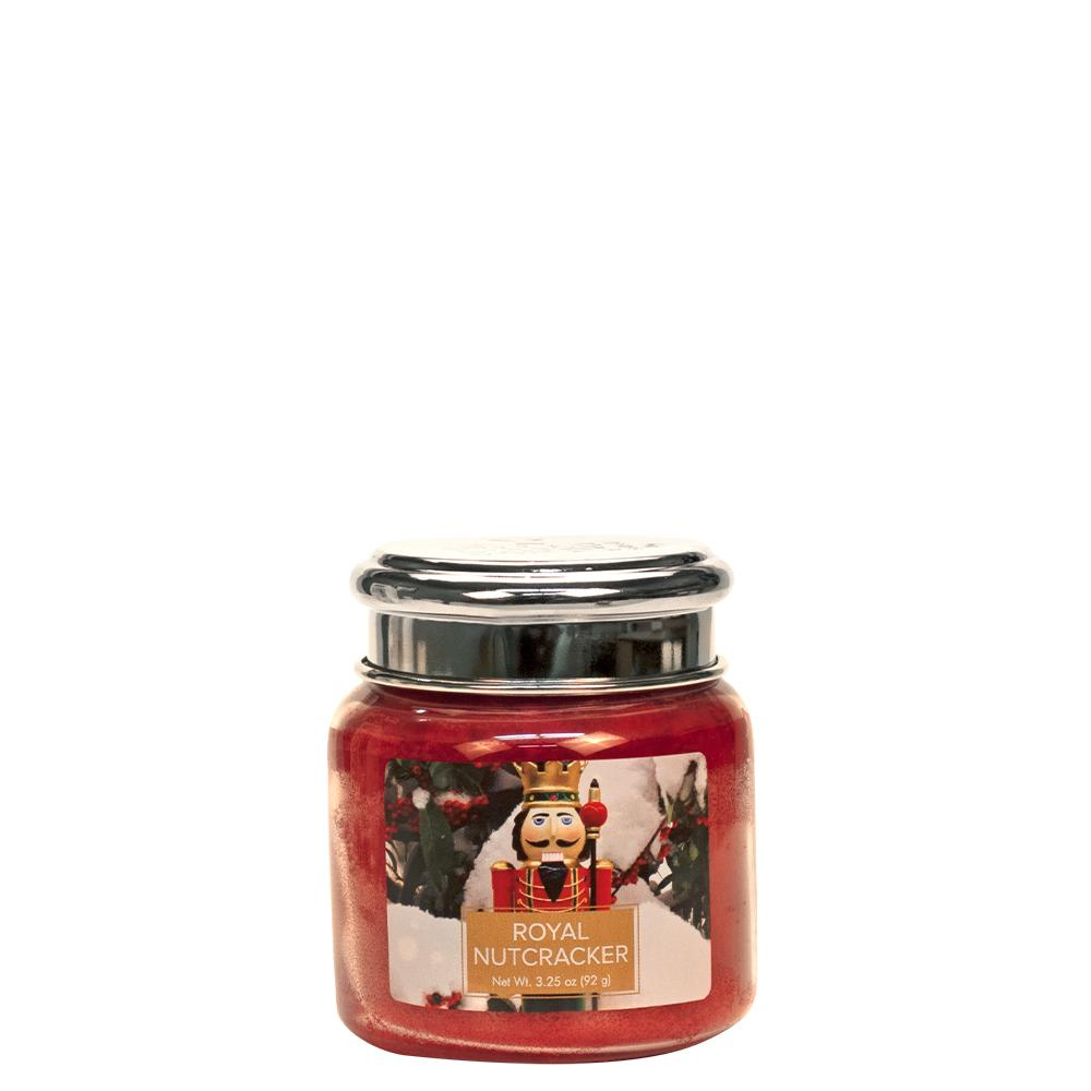 Royal Nutcracker Petite Glass Jar Christmas