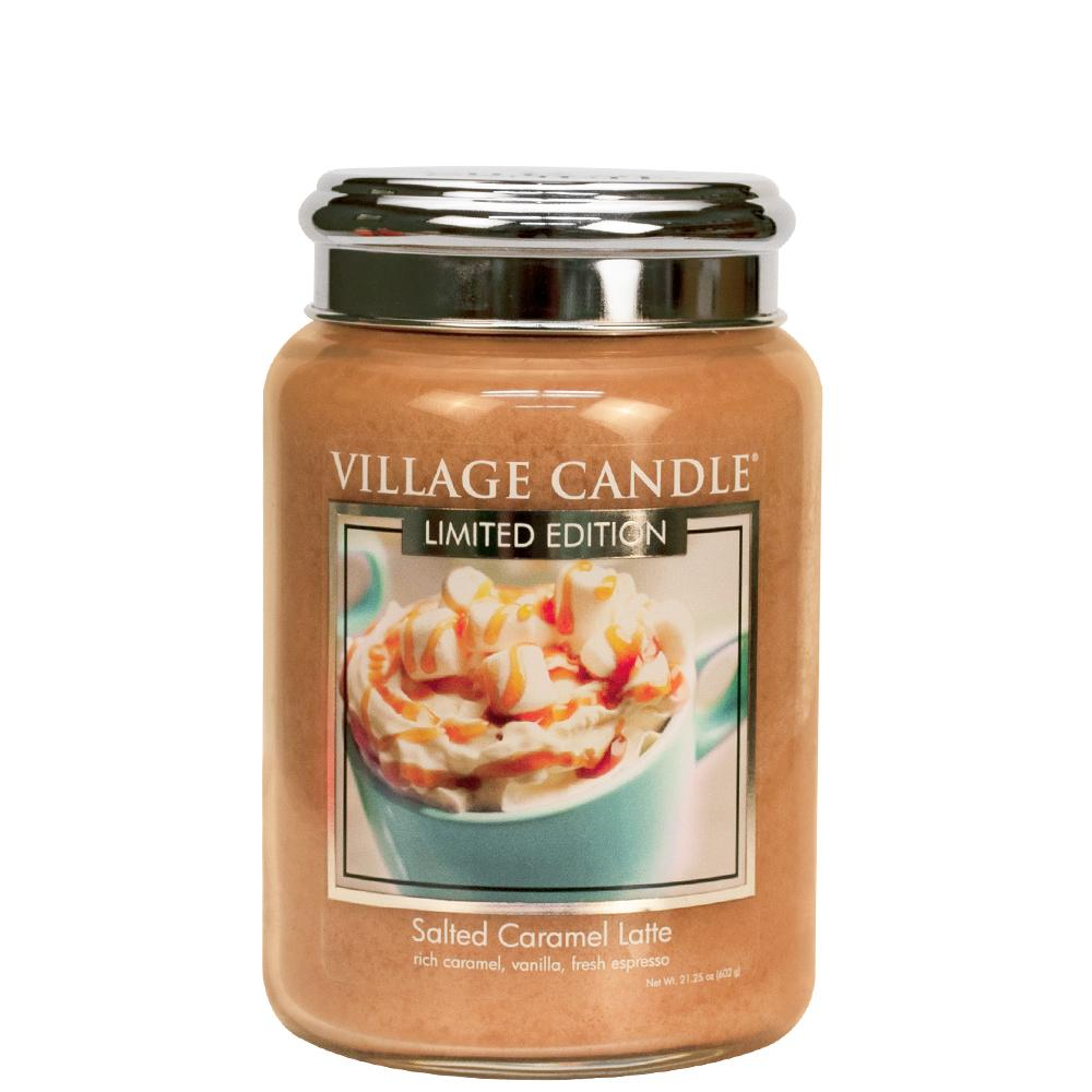 Salted Caramel Latte Large Glass Jar Limited Edition ML