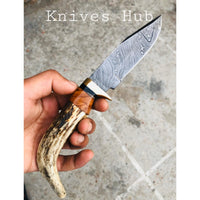 |Knives Hub| Custom Handmade Danascus Steel Knife