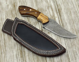 Custom Damascus Steel knife, Damascus knife skinning tactical camping utility hunting knife