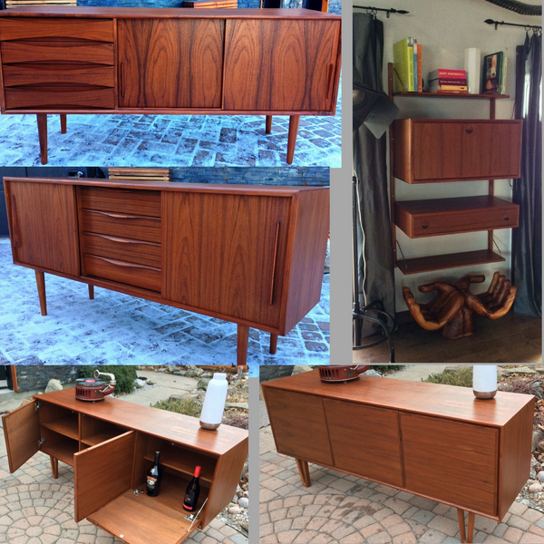 How to maintain RESTORED Mid Century Modern teak, walnut and rosewood furniture