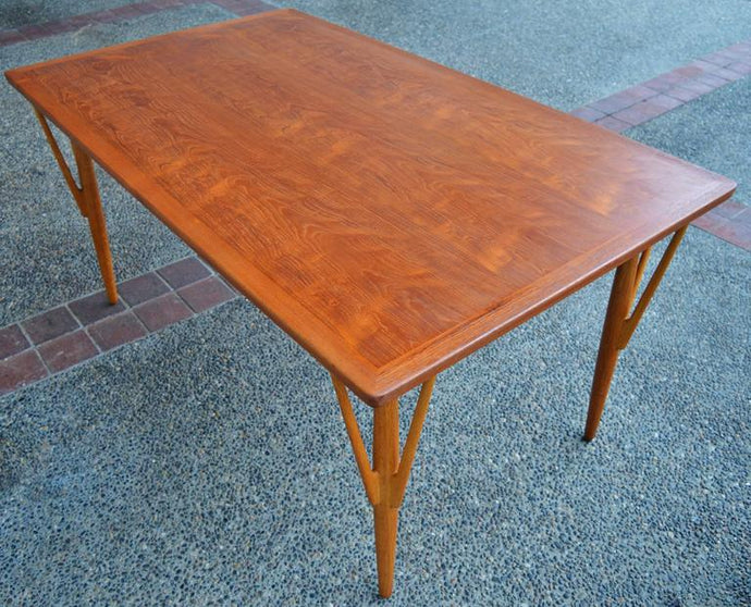 IS DANISH MID CENTURY MODERN FURNITURE MADE OF SOLID TEAK or TEAK VENEER?