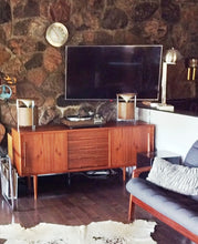 "Load image into Gallery viewer, Danish MCM Teak Credenza Console 63"" perfect - Mid Century Modern Toronto"