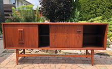 "Load image into Gallery viewer, SOLD*****REFINISHED MCM Walnut Sideboard TV Console 70""perfect - Mid Century Modern Toronto"