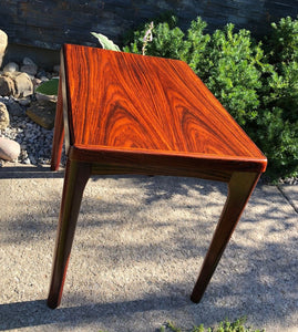 REFINISHED Danish MCM  Rosewood Accent Side End Tables, set of 2; perfect - Mid Century Modern Toronto