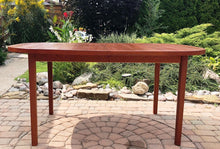 "Load image into Gallery viewer, REFINISHED MCM Teak Table Rounded (no leaf) 6-Seater 39""x59' - Mid Century Modern Toronto"
