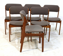 Load image into Gallery viewer, SOLD --4 Erik Buch OD-49 MCM Teak Chairs Will Be Custom REUPHOLSTERED you, each $349 - Mid Century Modern Toronto