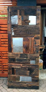 Sliding Barn Door Modern Rustic Industrial - One of the Kind - Mid Century Modern Toronto