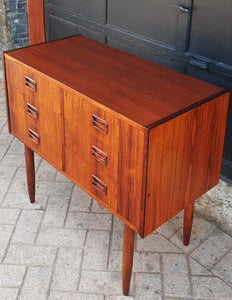 REFINISHED Danish MCM Rosewood Dresser 6 Drawers & Mirror PERFECT - Mid Century Modern Toronto