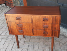 Load image into Gallery viewer, REFINISHED Danish MCM Rosewood Dresser 6 Drawers & Mirror PERFECT - Mid Century Modern Toronto