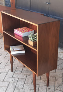 "RESTORED Small Danish MCM Rosewood Bookcase Display 34"", PERFECT - Mid Century Modern Toronto"