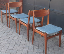 Load image into Gallery viewer, 4 Danish MCM Teak Chairs by Erik Buch REFINISHED