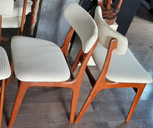 Load image into Gallery viewer, 4 Danish MCM Teak Chairs  RESTORED, perfect, each $249 (6 similar chairs are available) - Mid Century Modern Toronto