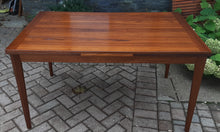 "Load image into Gallery viewer, REFINISHED Danish MCM Teak Draw Leaf Table by Vejle Mobelfabrik 53""-93"", PERFECT"
