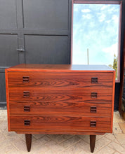 Load image into Gallery viewer, REFINISHED Danish MCM Rosewood Dresser & Mirror, PERFECT